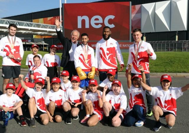 Team england birmingham 2022