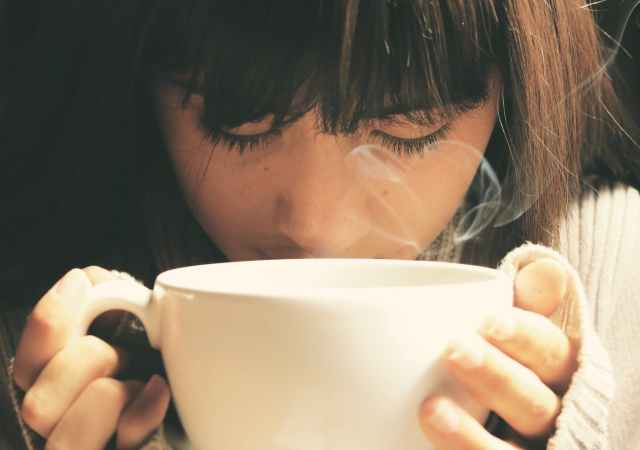 Calories and sugar in hot drink