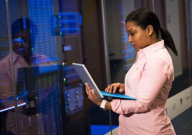 Women into the cybersecurity industry