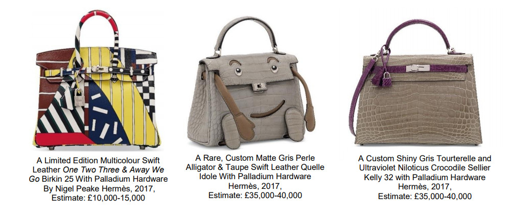 7cedd4c3a8b1 Christie's Handbags & Accessories Auction