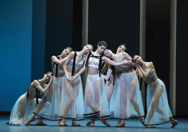 Costumes for the royal ballet production of corybantic games by christopher wheeldon