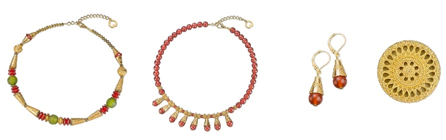 Hajer ghani necklaces