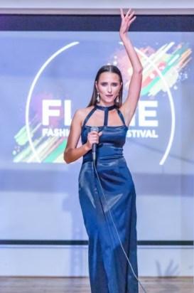 singer ellen vladyuk dress by yana flame couture