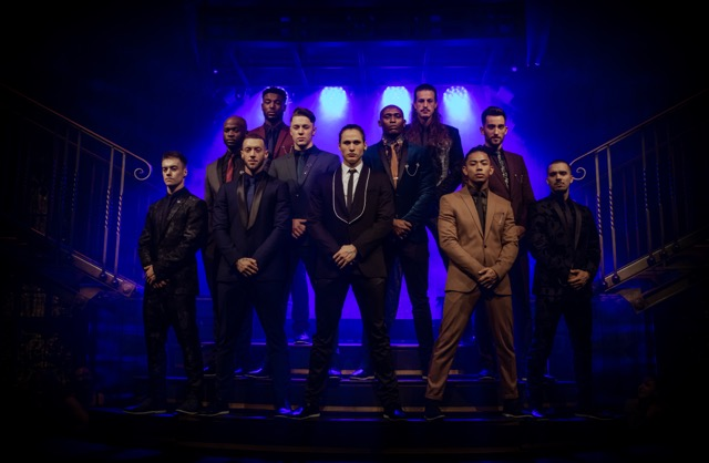 The cast of magic mike live, credit trevor leighton