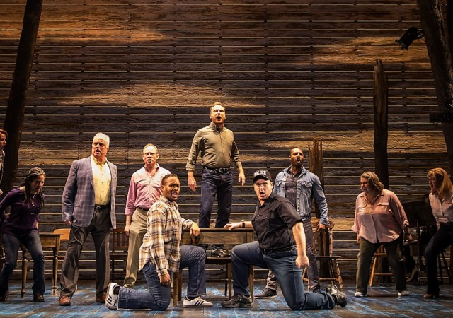 Come from away lands at the phoenix theatre on 30 january 2019 credit matthew murphy