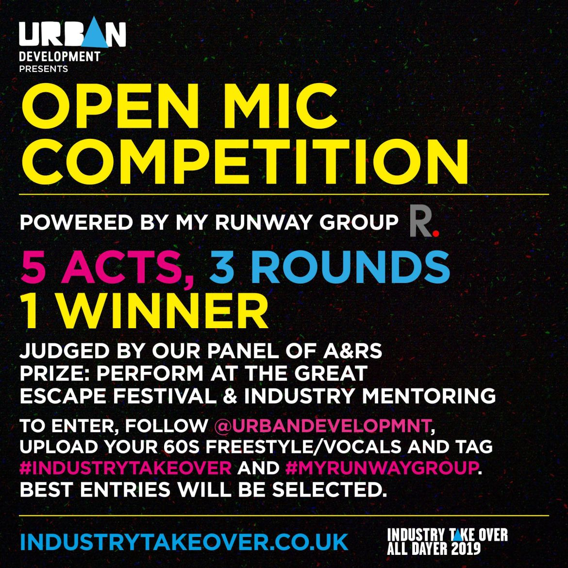 Industry take over open mic competition