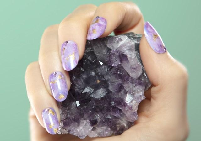 Groupon mystical manicure amethyst