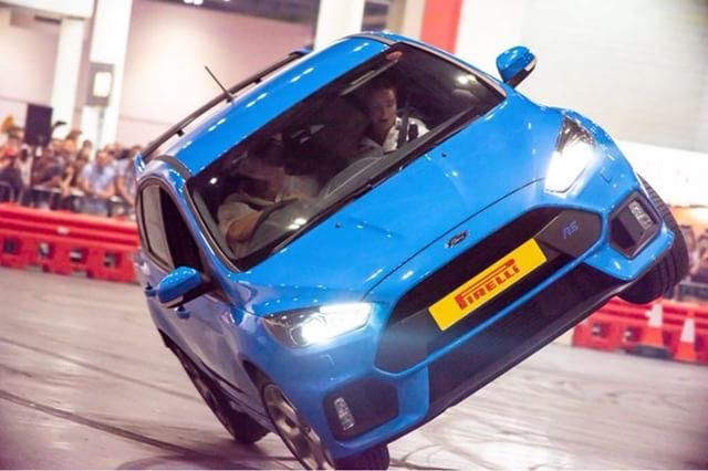 Paul swift stunt team to return to leasing.com london motor & tech show with even bigger show