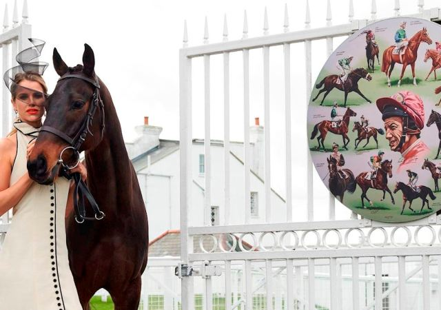 Vogue williams investec derby ambassador 2019 gates