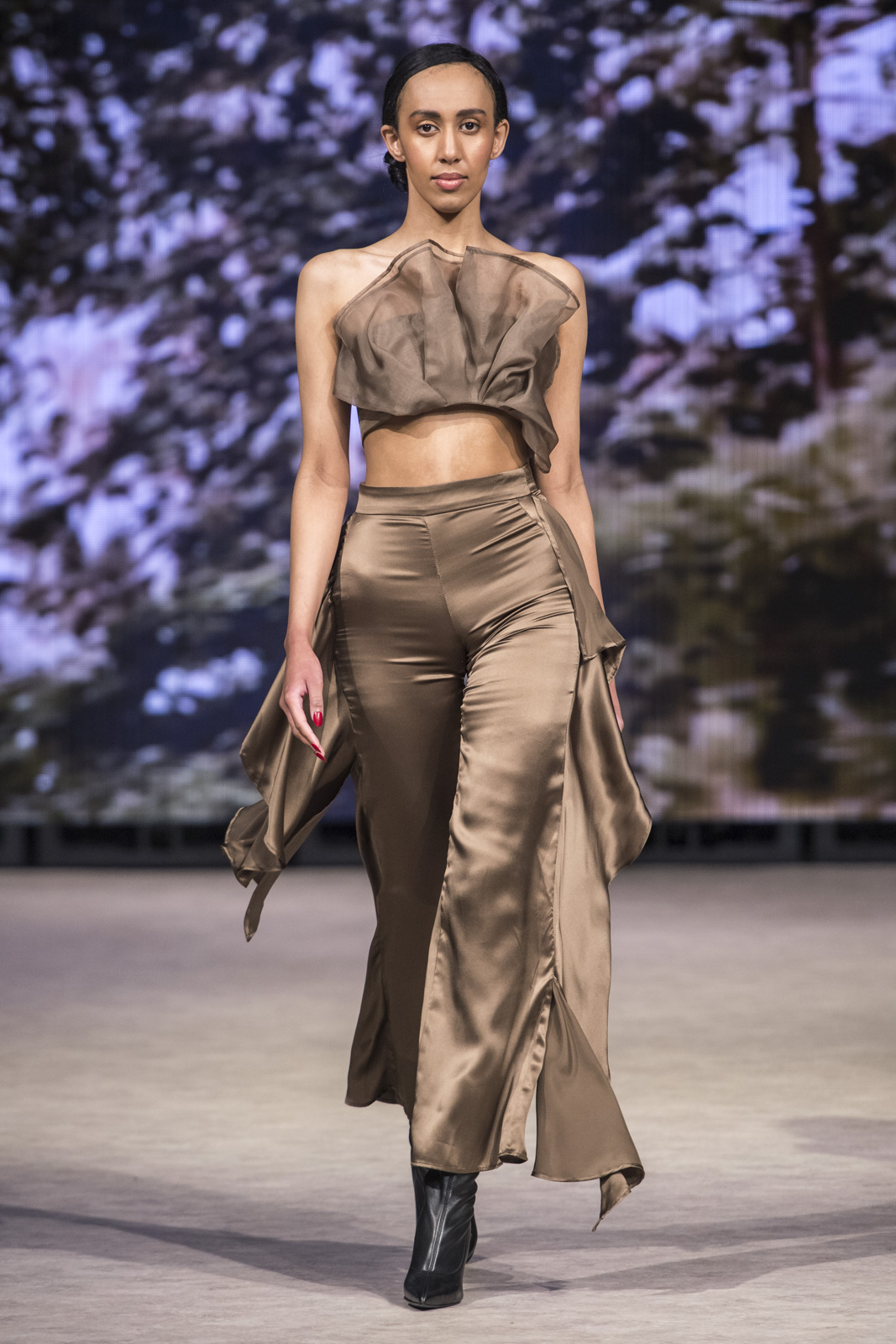 Carmen Llaguna at Vancouver Fashion Week