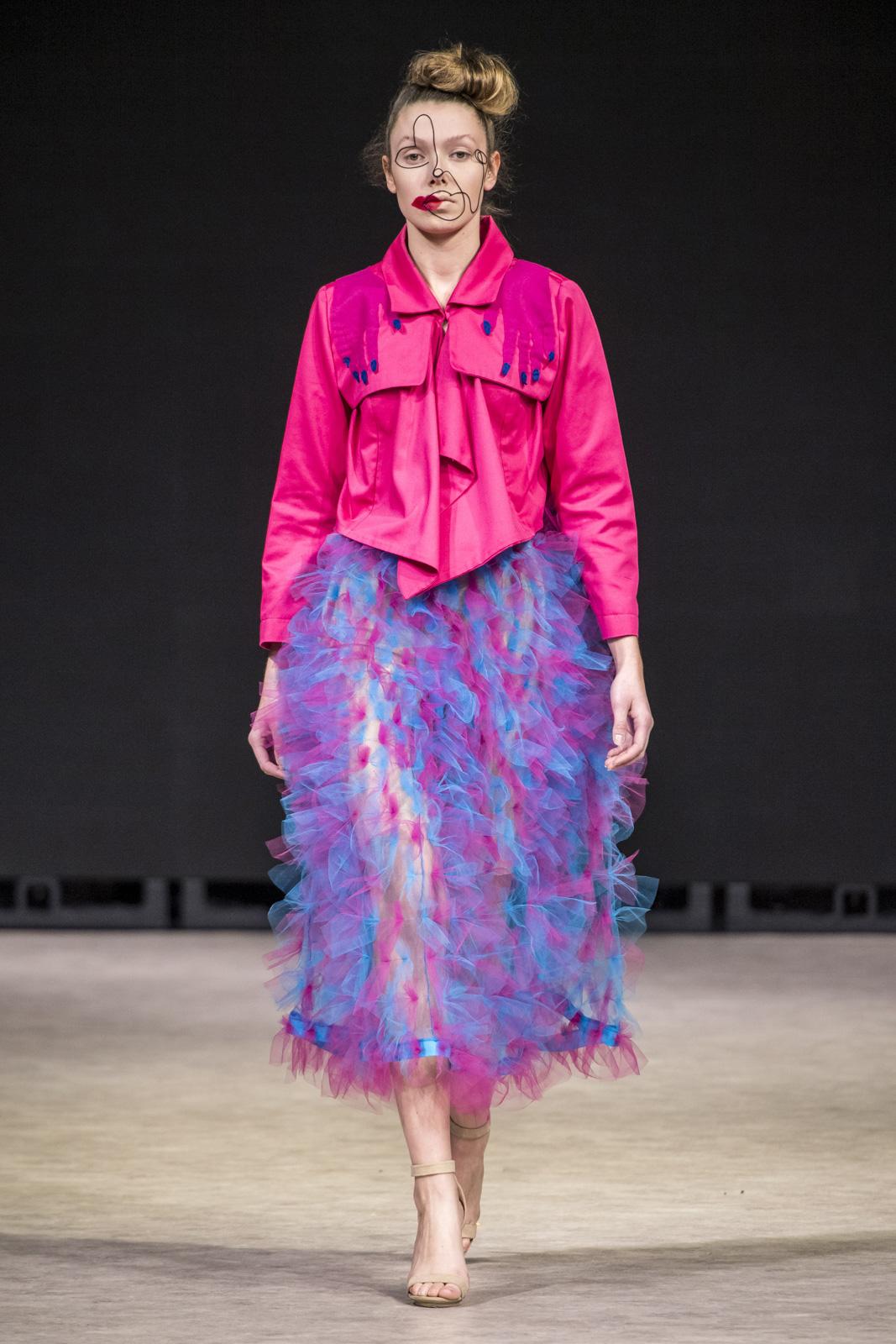 Sarah Runnalls Collection at Vancouver Fashion Week