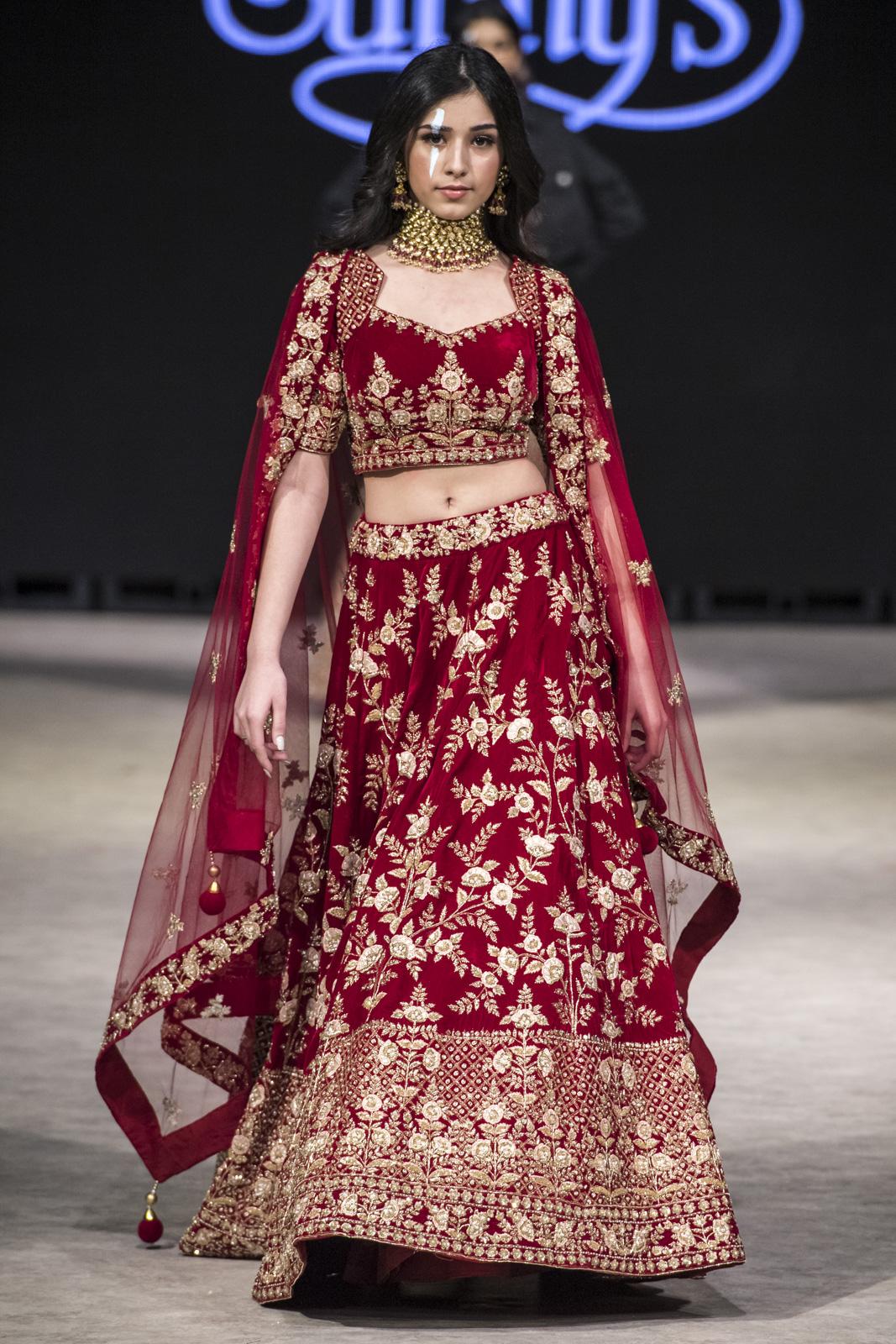 Sunny's Bridal at Vancouver Fashion Week