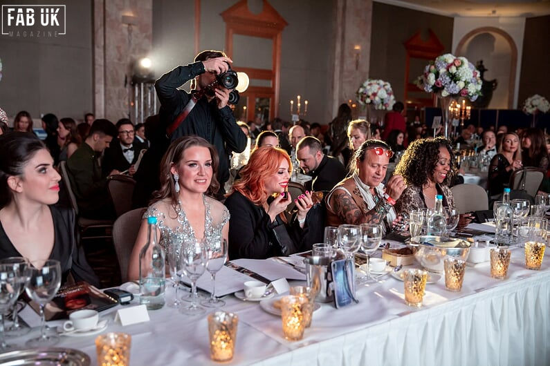 Judges table, with miss ussr uk project manager and international producer izabelle urumyants and organizer julia sinitsina