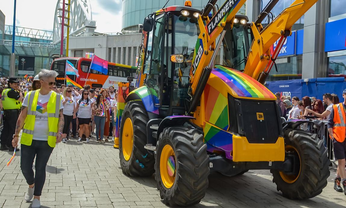 Building equality at birmingham pride