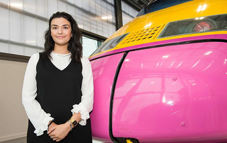 Clara lenzi, project management apprentice, hs2 ltd