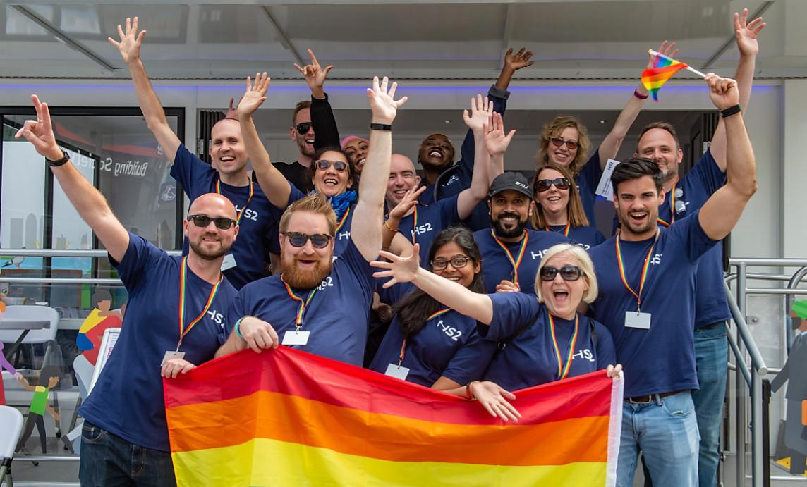 Hs2 at birmingham pride 1