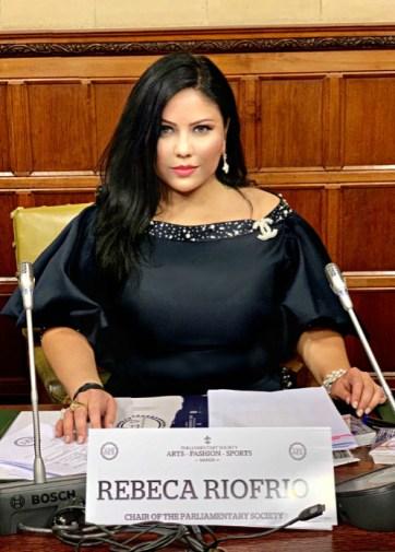 Rebeca riofrio chair parliamentary society