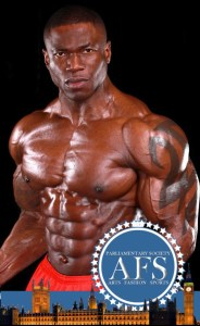 Wole adesemoye world champion fitness stamped