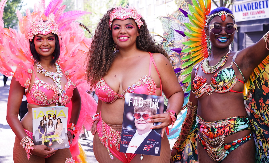 Notting hill carnival 2019 with bacchanalia masband