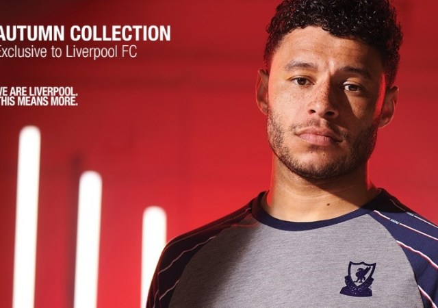 Liverpool fc autumn fashion collection