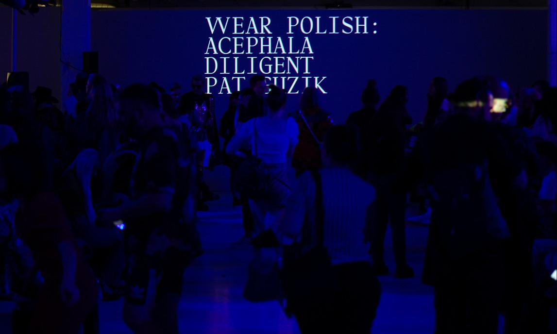 Wear polish ss20 fashion show with fashion scout