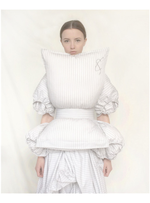 9 cunnington & sanderson pillow top hollow top & laundrey dress occupied collection