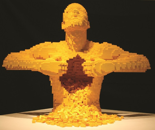 Global lego® art exhibition comes to manchester the art of the brick