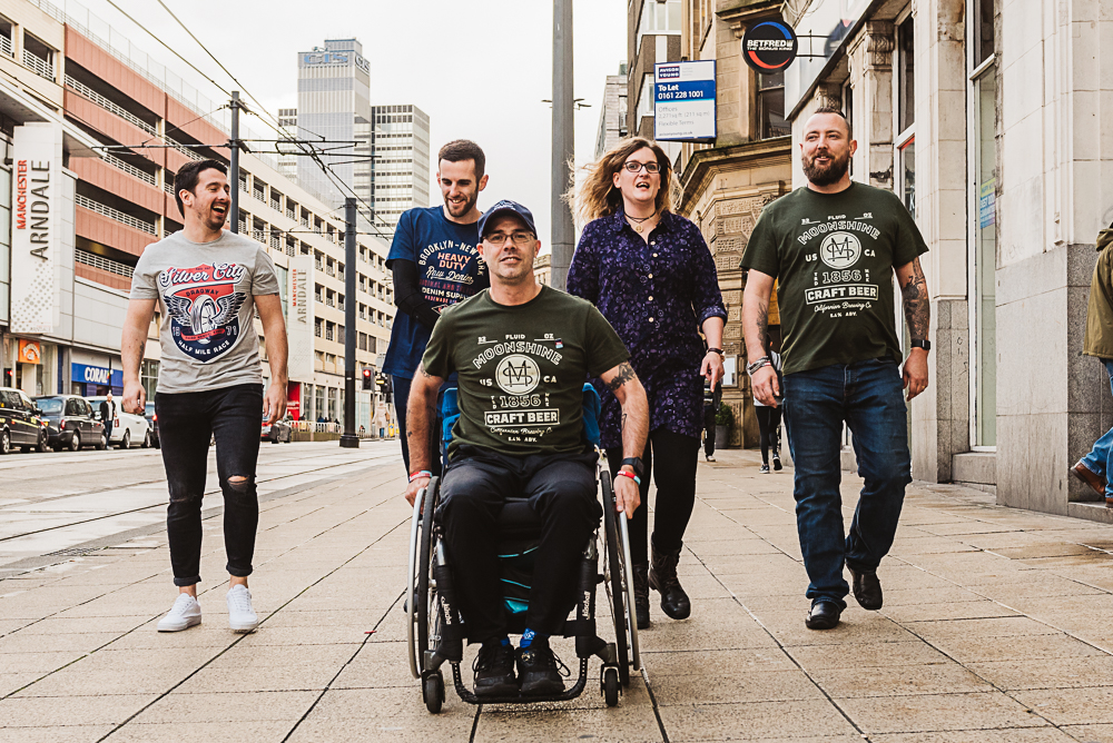 Help for Heroes veterans take over Debenhams