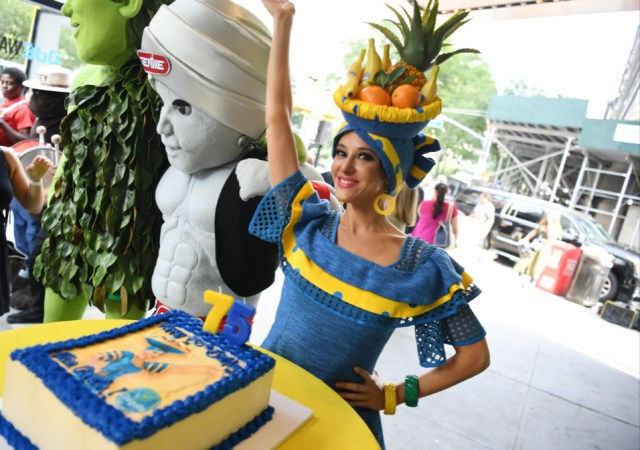 Miss chiquita is celebrating her 75th birthday