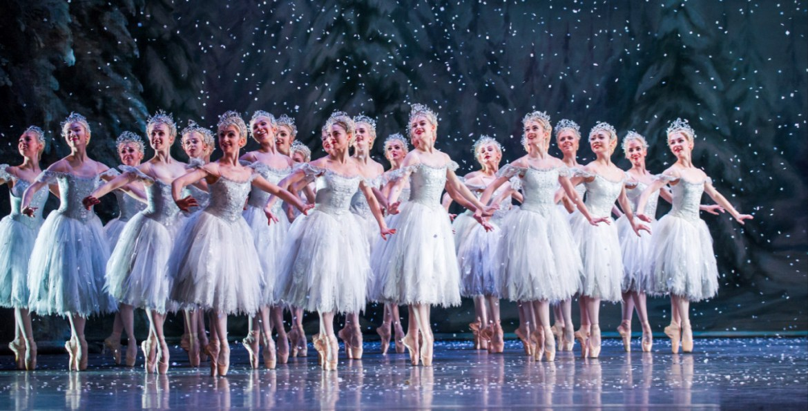 Artists of the royal ballet in the nutcracker, the royal ballet © 2015 roh. photograph by tristram kenton