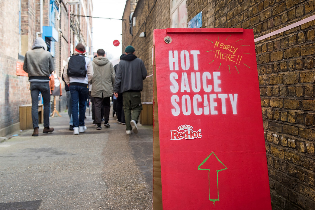 Hot sauce society london's first hot sauce festival