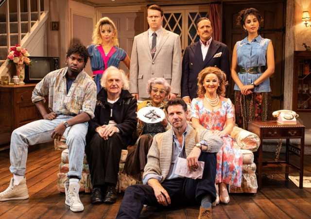 Noises off garrick theatre production