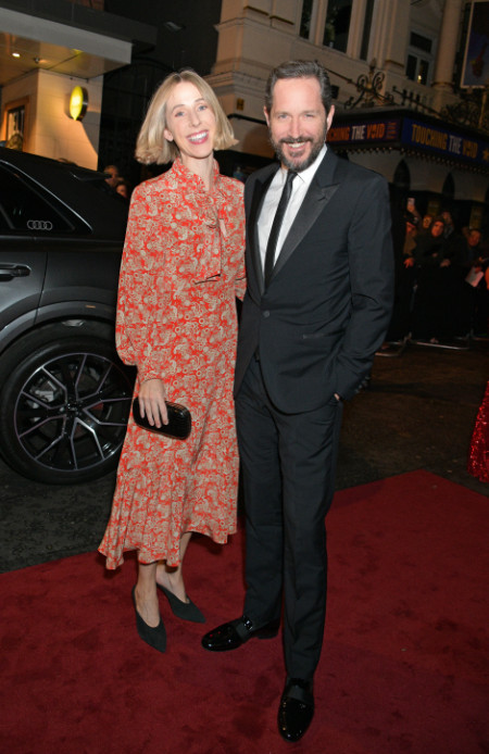 Sally scott & bertie carvel arrive in an audi at the evening standard theatre awards at the london coliseum on sunday 24 november 2019