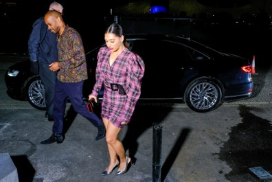 Vanessa white arrives in an audi at the gay times honours 500 at magazine london on thursday 21 november 2019