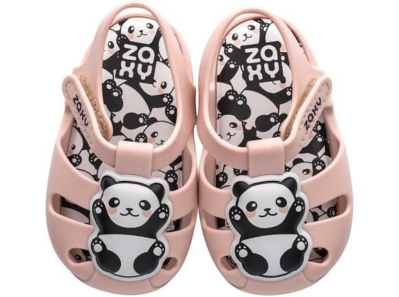 Zaxy baby newborn panda blush