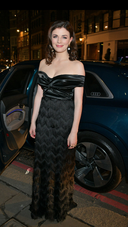 Aisling bea arrives in an audi at the british independent film awards at old billingsgate, london, on sunday 01 december 2019