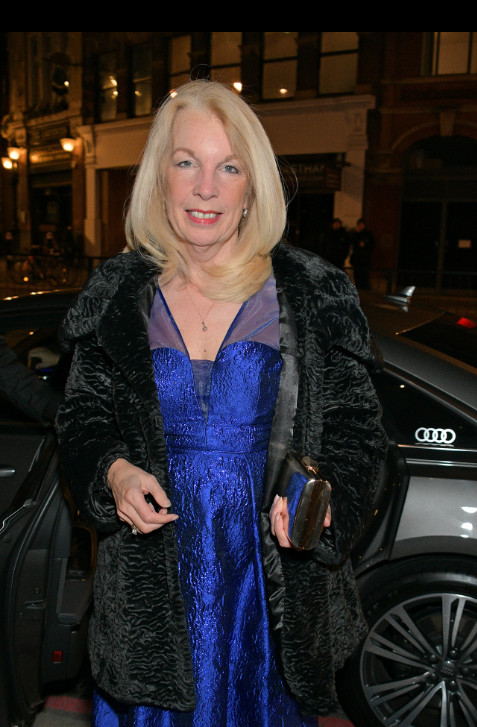 Amanda neville arrives in an audi at the british independent film awards at old billingsgate, london, on sunday 01 december 2019 (2)