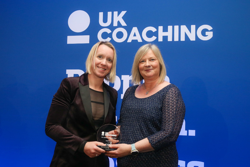 High performance coach of the year mel marshall © uk coaching