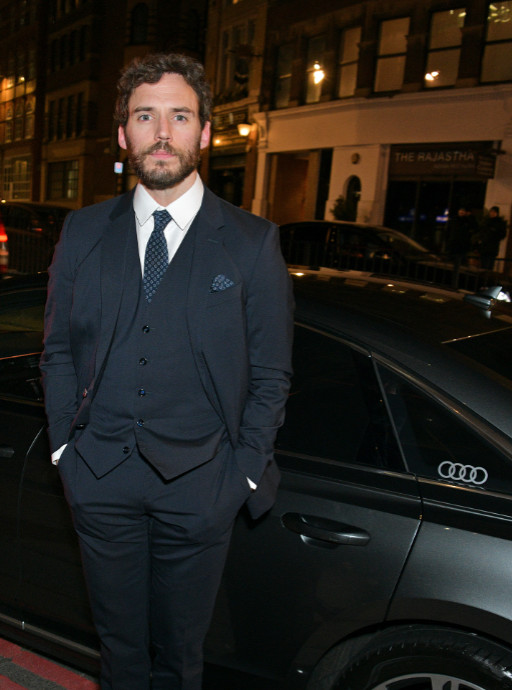 Sam claflin arrives in an audi at the british independent film awards at old billingsgate, london, on sunday 01 december 2019