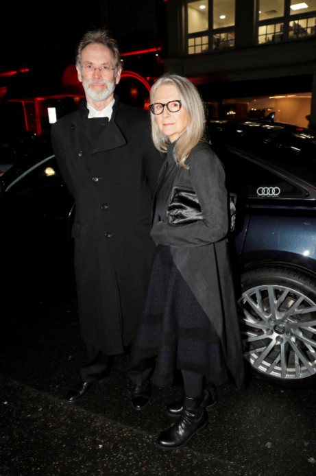Christopher john sheppard & sally potter arrive in an audi at the london critics' circle film awards, the may fair hotel, london, thursday 30 january 2020