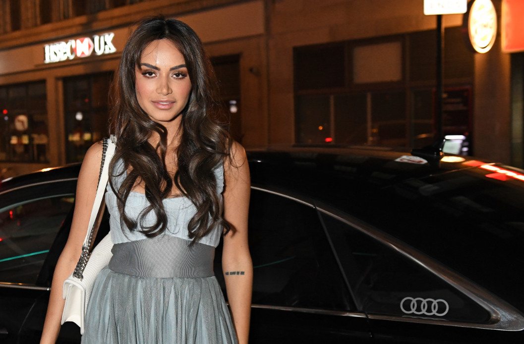 Diipa khosla arrives in an audi at the vanity fair ee bafta rising star party at the standard, london, wednesday 22 january 2020