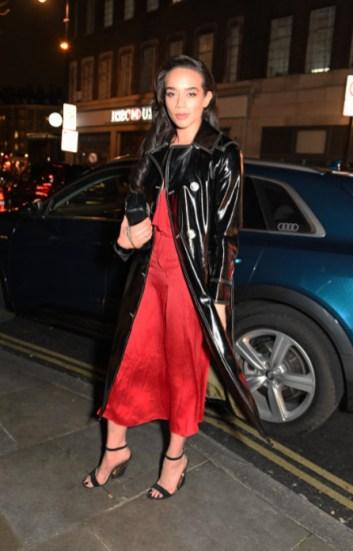 Hannah john kamen arrives in an audi at the vanity fair ee bafta rising star party at the standard, london, wednesday 22 january 2020