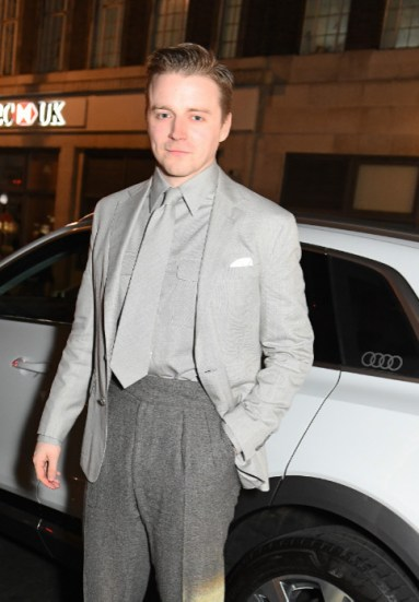 Jack lowden arrives in an audi at the vanity fair ee bafta rising star party at the standard, london, wednesday 22 january 2020