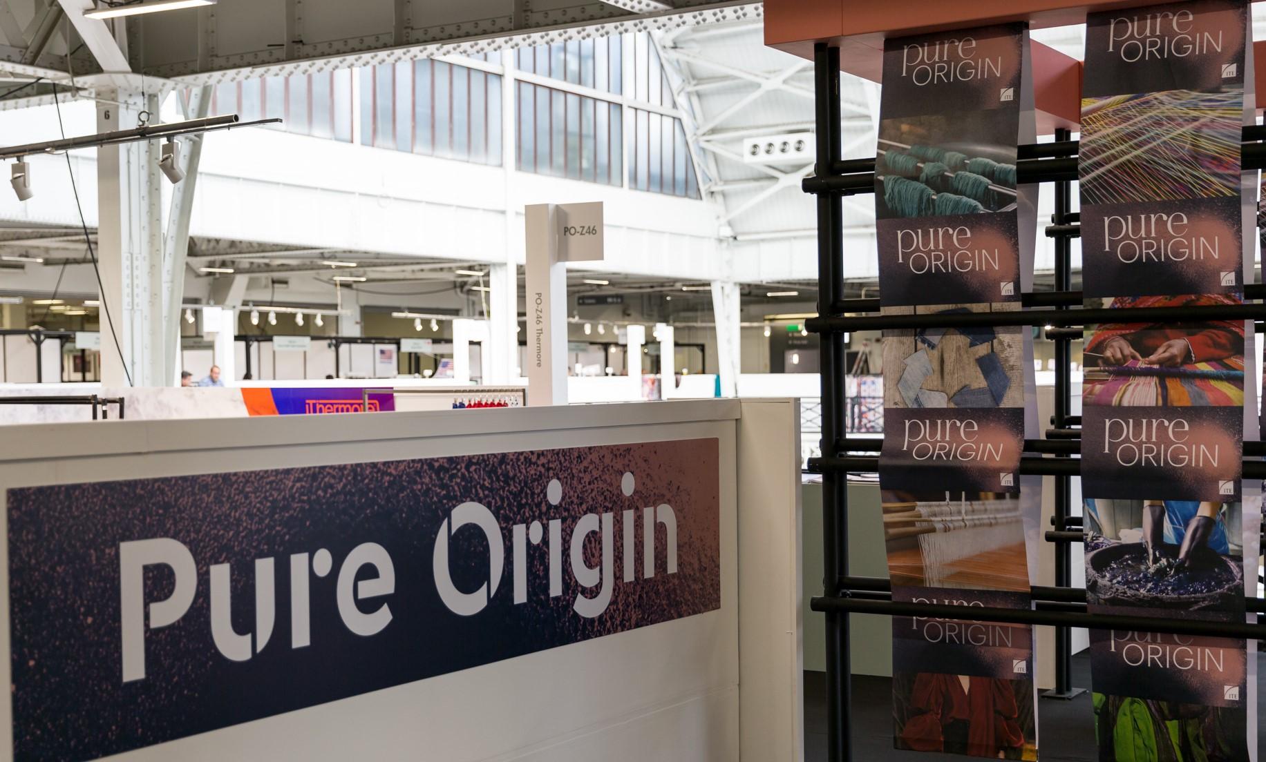 Pure origin signage