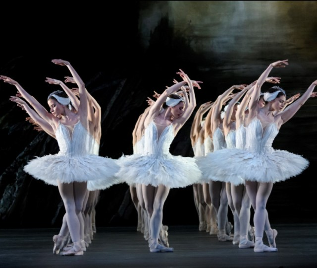 Swan lake. artists of the royal ballet. © roh, 2018. ph. by bill cooper.