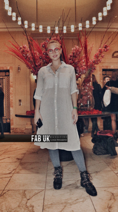 Lu vixen presents for the first time during london fashion week (5)