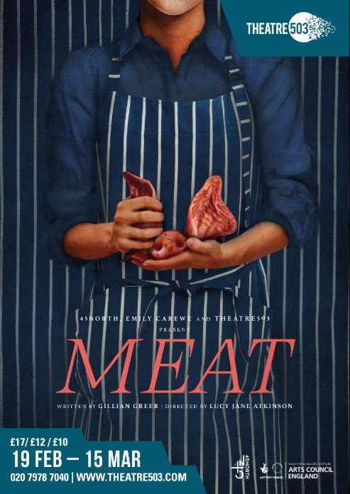 Meat by gillian greer at theatre 503
