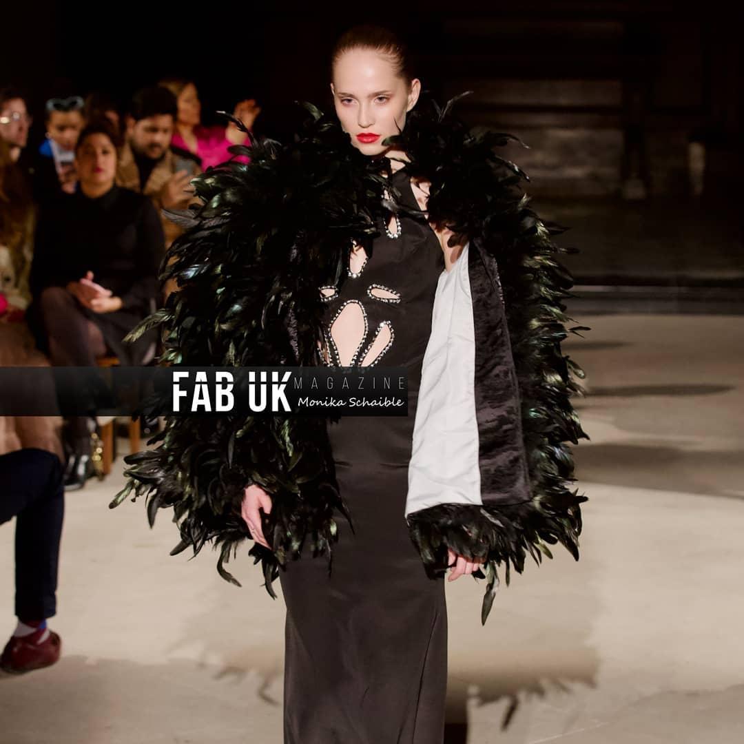 Malan breton aw20 show during london fashion week (1)