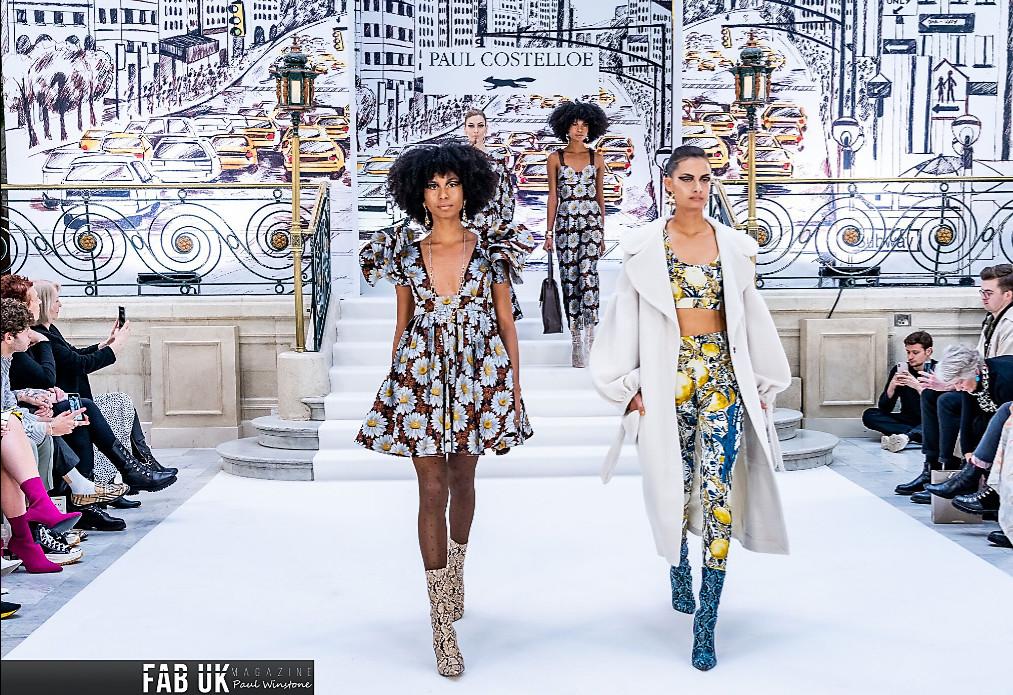Paul costelloe aw20 show during london fashion week (1)