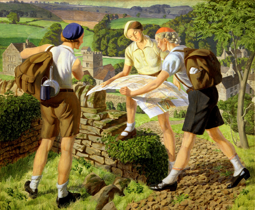 Hiking, james walker tucker